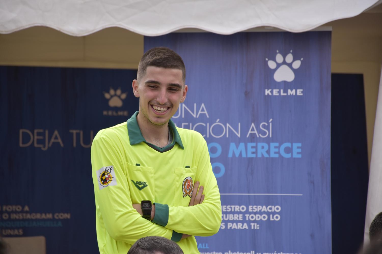 Martín Gonzalvo, árbitro de A-ball, Fútbol en silla